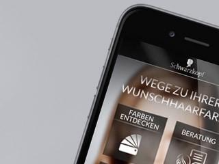 Schwarzkopf Color Advisor iOS APP