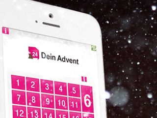 Deutsche Telekom Advent calendar App